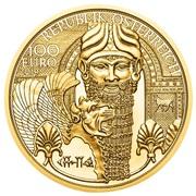 100 Euro (the Gold of Mesopotamia) -  obverse