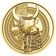 100 Euro (the Gold of Mesopotamia) -  reverse