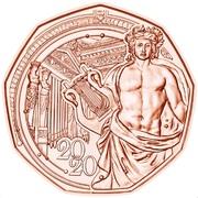 5 Euro (New Year 2020) -  reverse