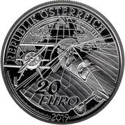 20 Euro (Dream of Flight - Advent of powered Flight) – obverse