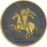 1.50 Euro - Leopold V (Golden Ring) -  obverse