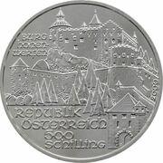 500 Schilling (Burg Hohenwerfen) -  obverse