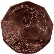 5 Euro (Easter coin 2020) -  reverse