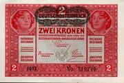 2 Kronen – obverse