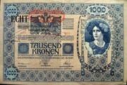 1000 Kronen (Overprint) – obverse