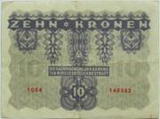 10 Kronen – reverse