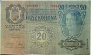 20 Kronen (Second issue) – reverse