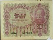 20 Kronen – obverse