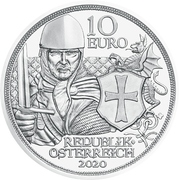 10 Euro (Courage) – obverse
