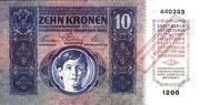 10 Kronen – obverse