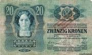 20 Kronen (1st edition) – obverse