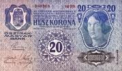 20 Kronen (2nd edition) – reverse