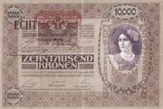 10 000 Kronen – obverse