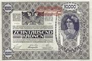 10000 Kronen -  obverse