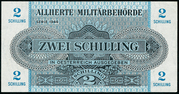 2 Schilling (Allied Military Authority) – obverse