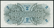 2 Schilling (Allied Military Authority) – reverse