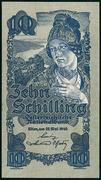10 Schilling (First issue) – obverse