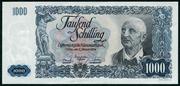1000 Schilling – obverse