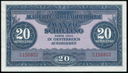 20 Schilling (Allied Military Authority) -  obverse