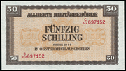 50 Schilling (Allied Military Authority) – obverse