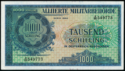 1000 Schilling (Allied Military Authority) – obverse