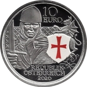 10 Euro (Courage; coloured) -  obverse