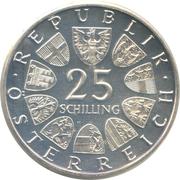 25 Schilling (Carl Michael Ziehrer) -  obverse