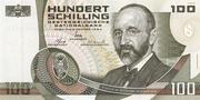 100 Schilling (Eugen Von Böhm-Bawerk) – obverse
