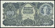 100 Schilling (first issue) -  obverse