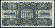 100 Schilling (first issue) -  reverse