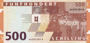 500 Schilling (Rosa Mayreder) – reverse