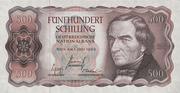 500 Schilling -  obverse