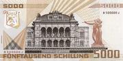 5000 Schilling – reverse