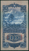 10 Schilling – reverse