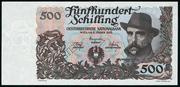 500 Schilling (Julius Wagner-Jauregg) – obverse