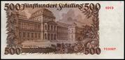 500 Schilling (Julius Wagner-Jauregg) – reverse