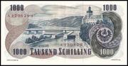 1000 Schilling -  reverse