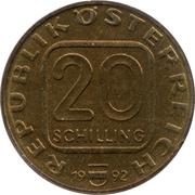 20 Schilling (Franz Grillparzer) -  obverse