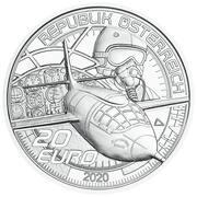 20 Euro (Faster than Sound) – obverse