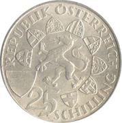 25 Schilling (Erzherzog Johann) -  obverse