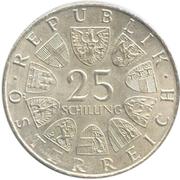 25 Schilling (Peter Rosegger) -  obverse