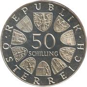 50 Schilling  (Blue Danube Waltz) -  obverse