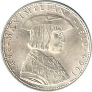 50 Schilling (Maximilian I) -  reverse