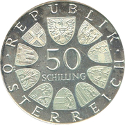 50 Schilling (Karl Renner) -  obverse