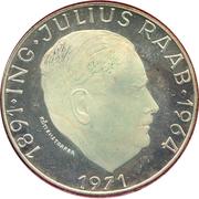 50 Schilling (Julius Raab) -  reverse