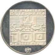 100 Schilling (Olympics) -  obverse