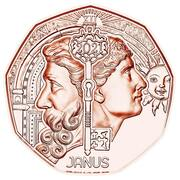 5 Euro (Janus) – reverse
