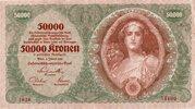 50 000 Kronen – obverse