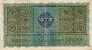 500 000 Kronen – reverse