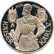 100 Schilling (Kaiser Karl V) -  reverse
